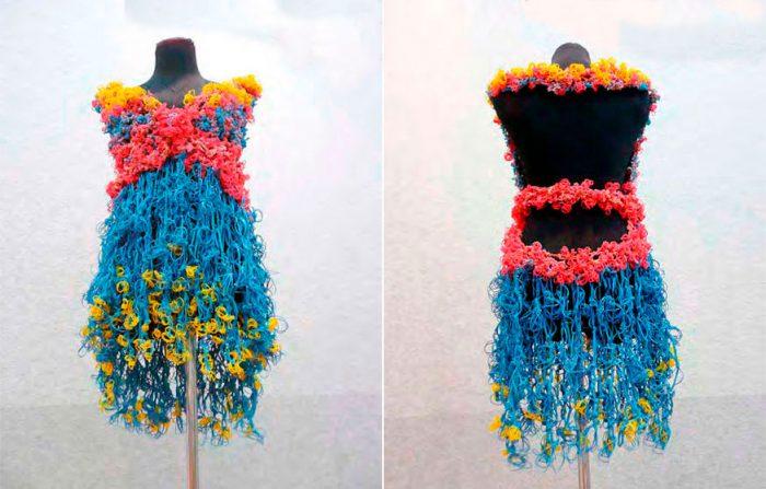 платья из резиночек Rainbow Loom