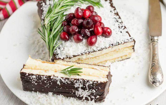 Украшение тортов посыпкой