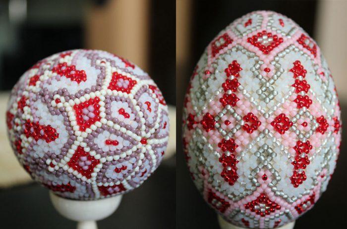 Техника мозаичного плетения