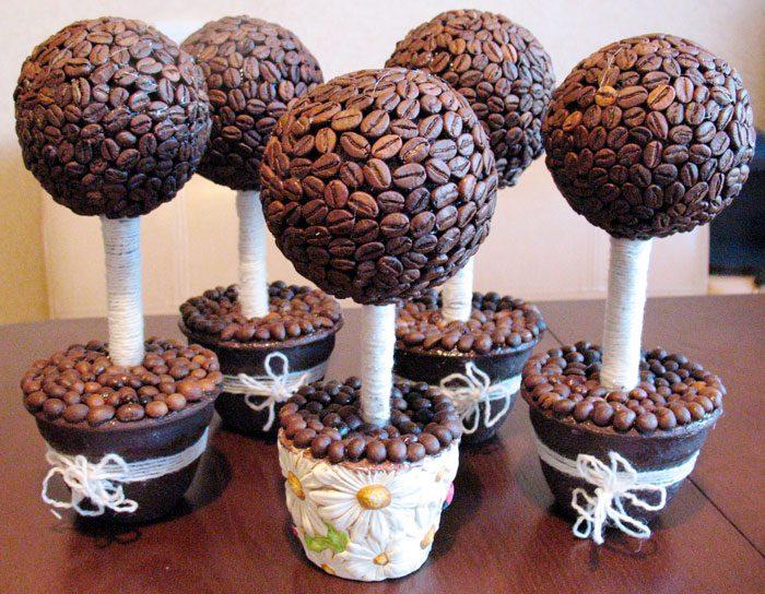 Топиарий из кофе (Кофейное дерево)