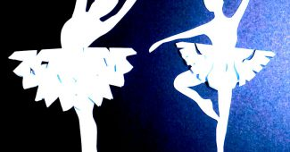 снежинки балеринки своими руками