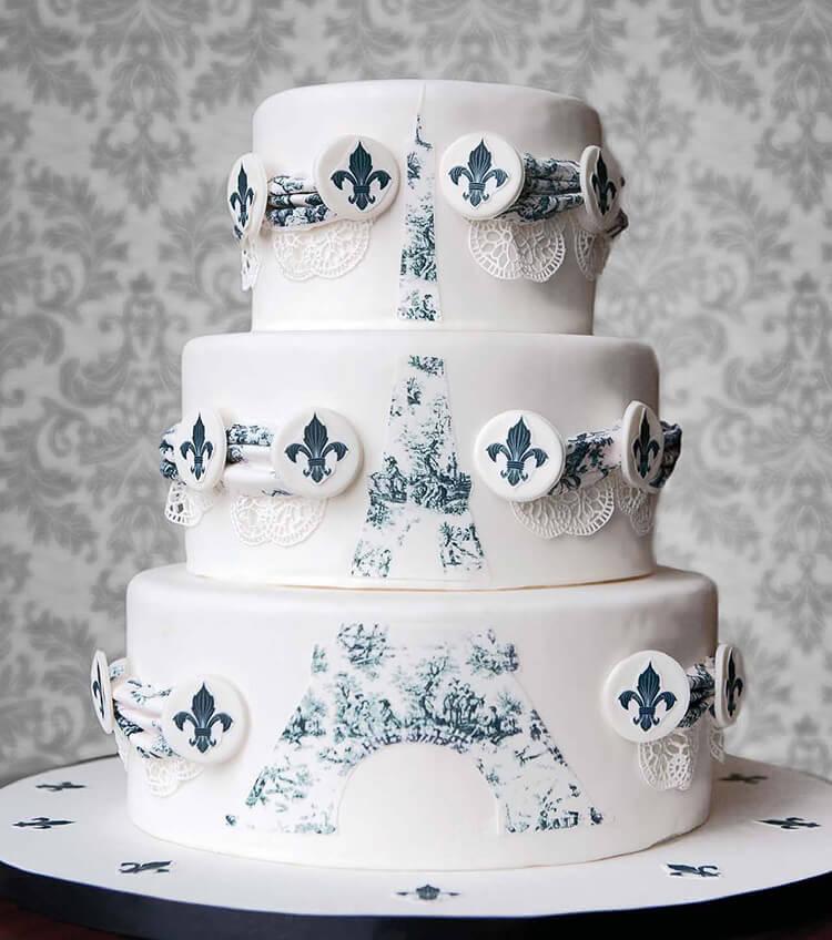 Фото украшенных тортов кремом в домашних условиях