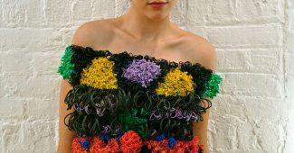 Одежда из резиночек Rainbow Loom