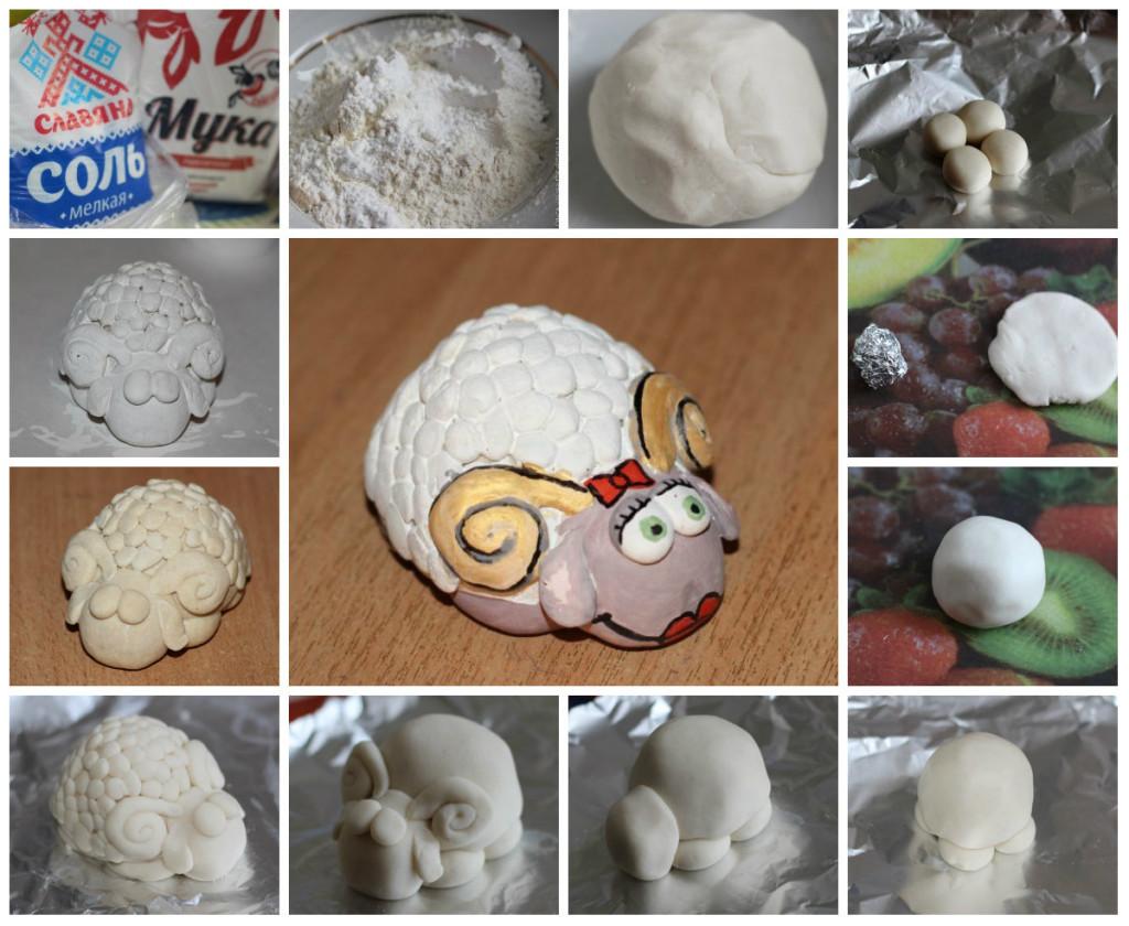Как сделать соленое тесто для поделки своими руками для начинающих фото 275