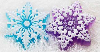 Новогоднее мыло ручной работы