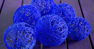 шары из ниток своими руками