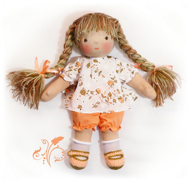 Тряпичная кукла поэтапно своими руками фото 89
