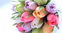 Букет из конфет тюльпаны своими руками