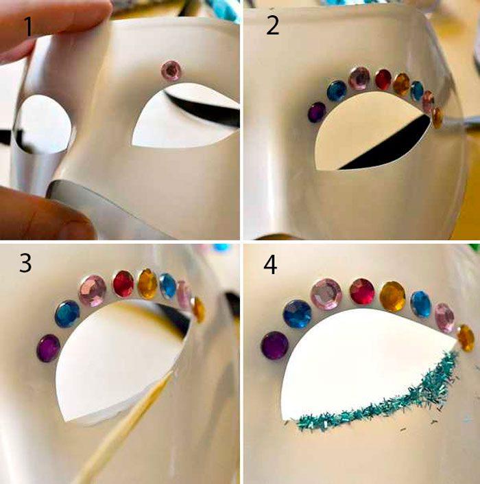 12-12-700x705 Как сделать маску из бумаги своими руками, 11 мастер-классов