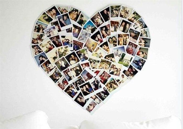 сердце из фотографий своими руками
