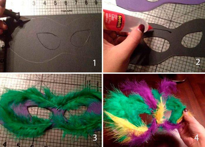 20-9-700x505 Как сделать маску из бумаги своими руками, 11 мастер-классов