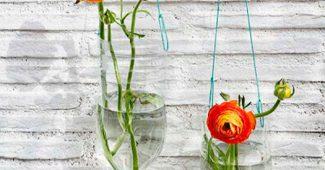 вазы из пластиковых бутылок своими руками