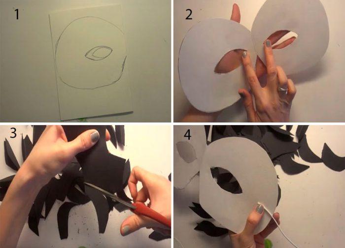 35-3-700x504 Как сделать маску из бумаги своими руками, 11 мастер-классов