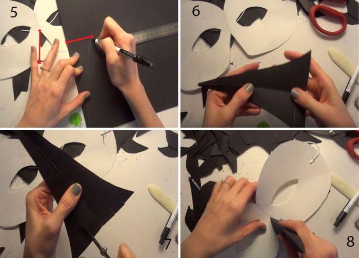36-3-700x503 Как сделать маску из бумаги своими руками, 11 мастер-классов
