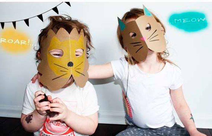 маска из бумаги своими руками мастер класс