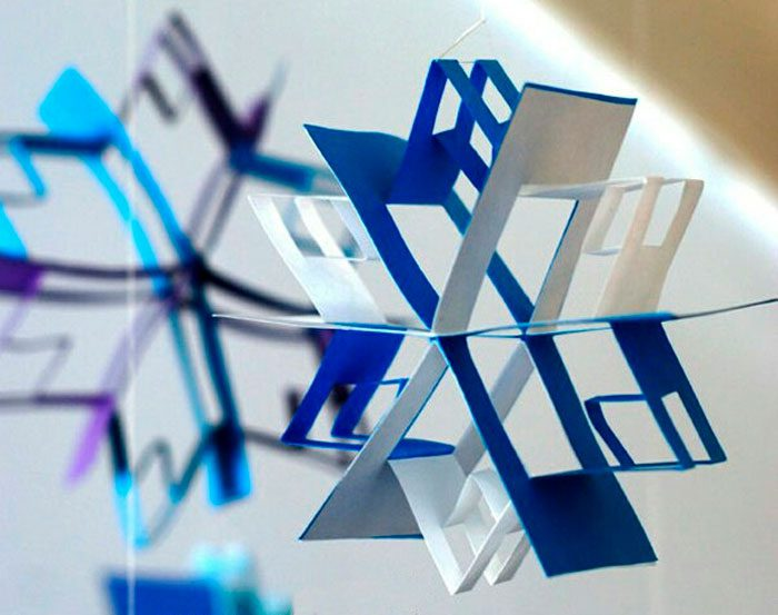 Геометрическая снежинка