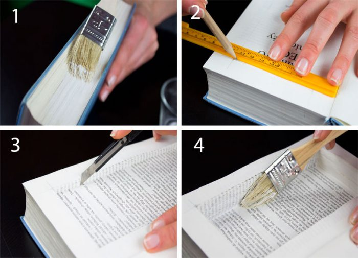 Книга сейф тайник своими руками мастер класс