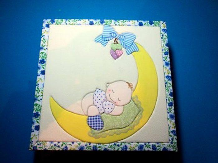 Панно для детской комнаты в технике кинусайга