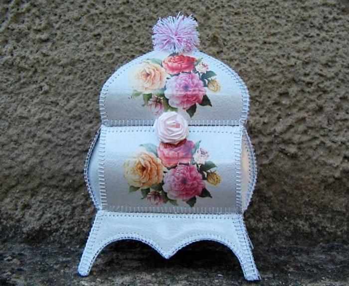 Как сделать вазу из открыток своими руками пошагово, днем рождения