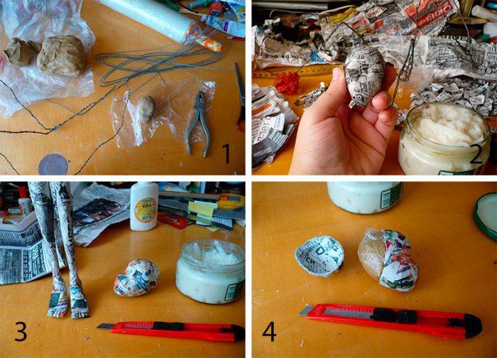 1-5-700x504 Пошаговый мастер-класс: Кукла из ткани
