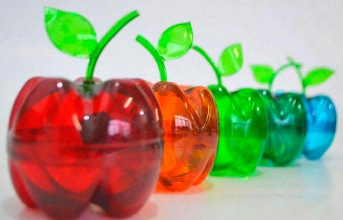 Поделки из пластиковых бутылок для детей своими руками