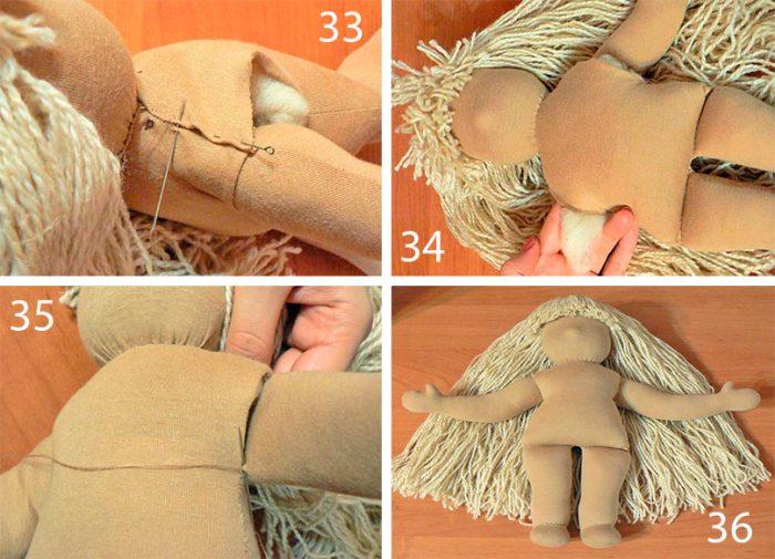Вальдорфская кукла своими руками для начинающих пошаговый мастер-класс