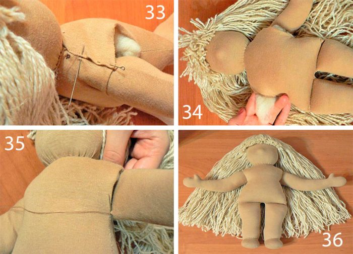 10-11-700x505 Пошаговый мастер-класс: Кукла из ткани