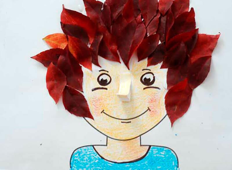 20-2 Осенние поделки из листьев на тему Золотая осень: как сделать своими руками в садик и школу