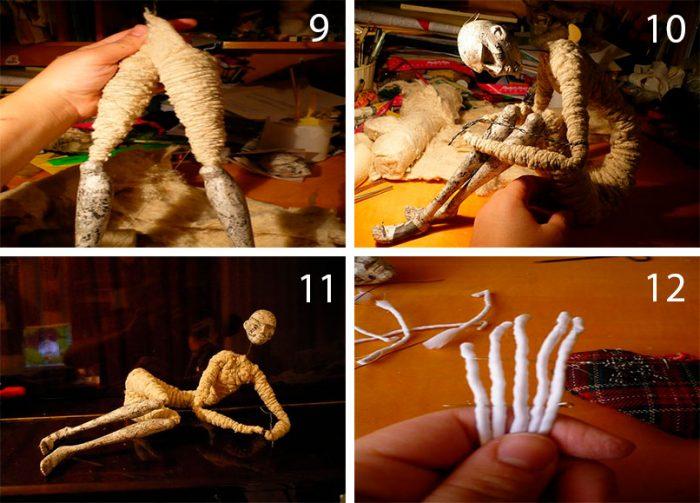 3-7-700x503 Пошаговый мастер-класс: Кукла из ткани