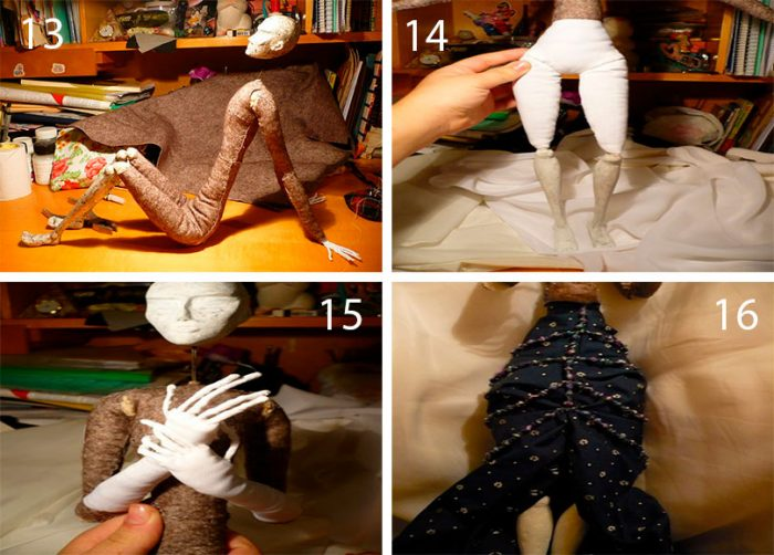 4-7-700x502 Пошаговый мастер-класс: Кукла из ткани