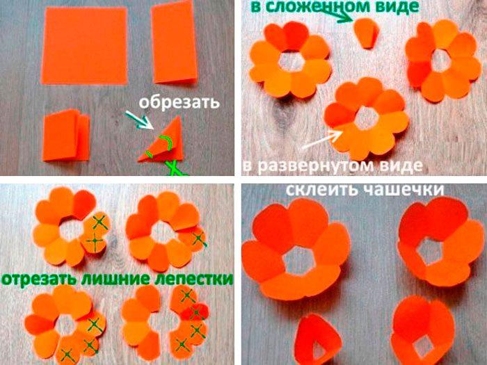 5-19-700x525 Цветы из подручных материалов своими руками – фото, мастер-класс