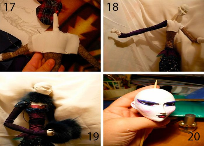 5-7-700x502 Пошаговый мастер-класс: Кукла из ткани