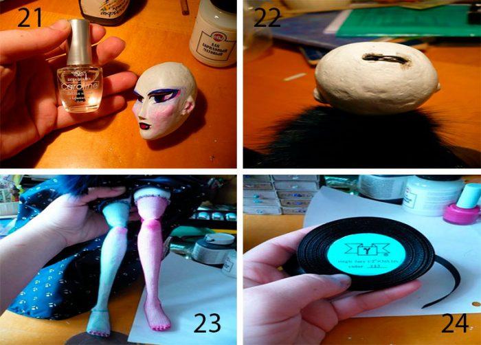 6-7-700x502 Пошаговый мастер-класс: Кукла из ткани