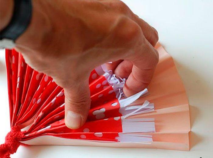Веер из бумаги своими руками пошаговый мастер-класс