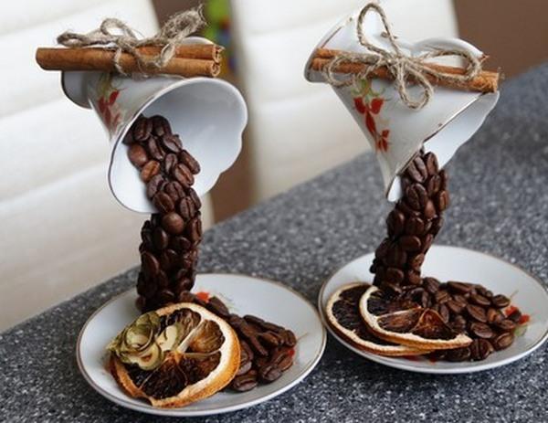 Как сделать чашку кофе 909