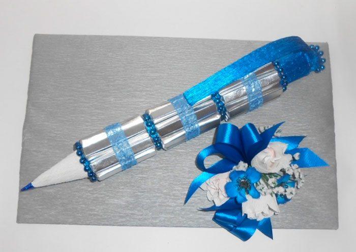 Ручка из конфет своими руками