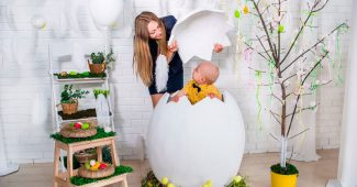 Яйцо в технике папье-маше своими руками