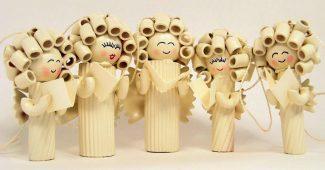 Пасхальные поделки из макарон своими руками