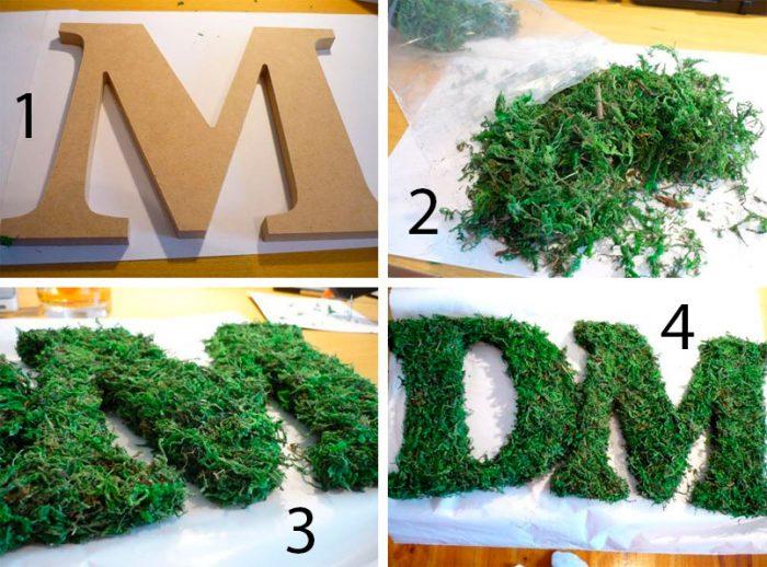 буквы из мха мастер-класс