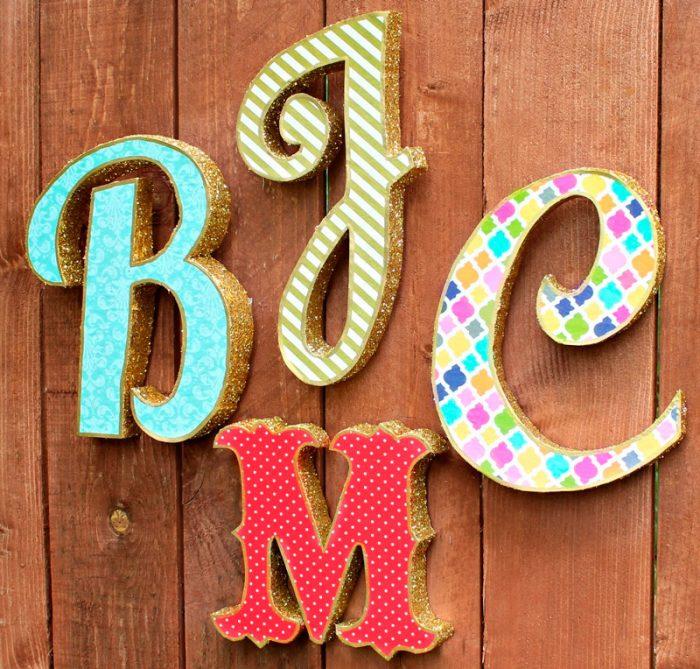 объёмные буквы
