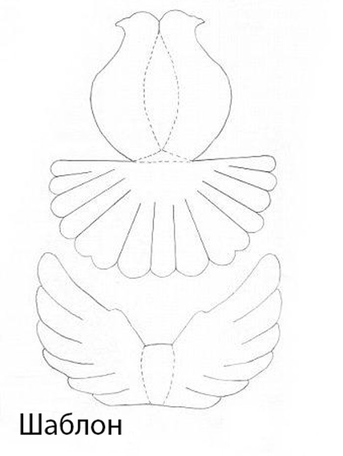Голубь мира к 9 мая своими руками, пошаговый мастер-класс