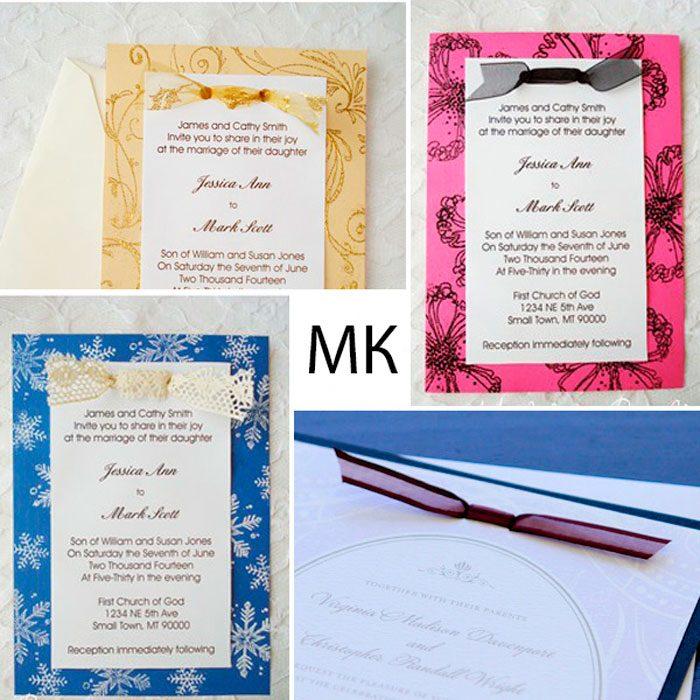 Пригласительные на свадьбу мастер-класс