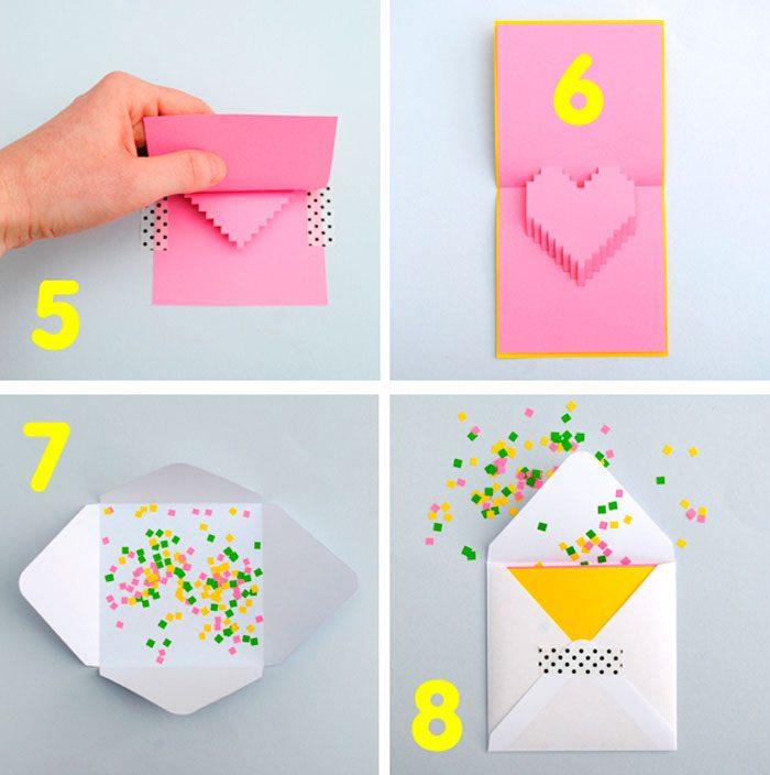 Как сделать открытку мама на день рождения своими руками из бумаги