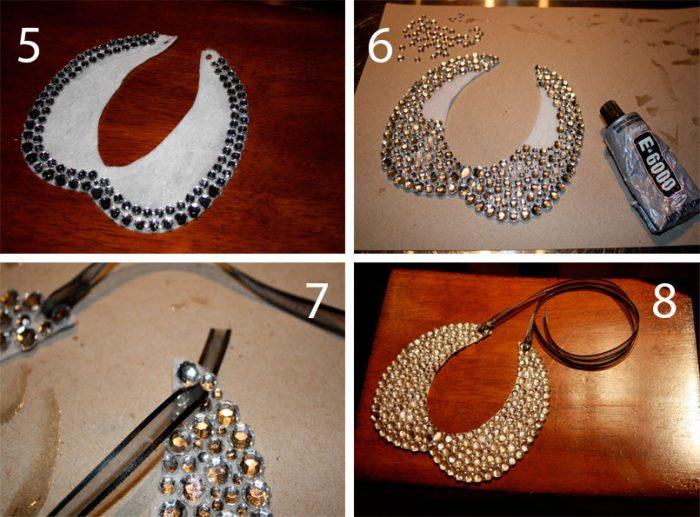 Ожерелье из камней мастер-класс