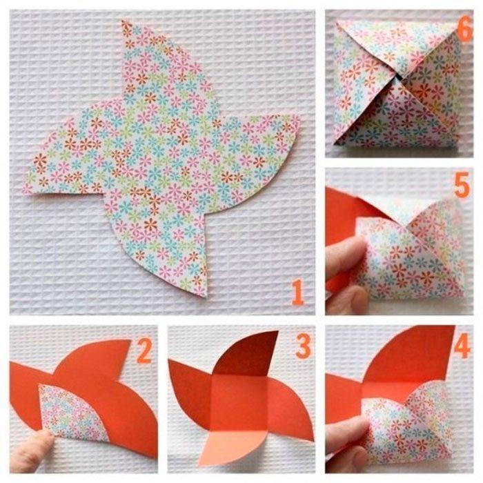 Бонбоньерка из бумаги пошаговая схема