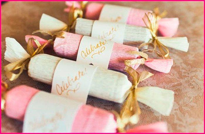 Бонбоньерки в виде конфет