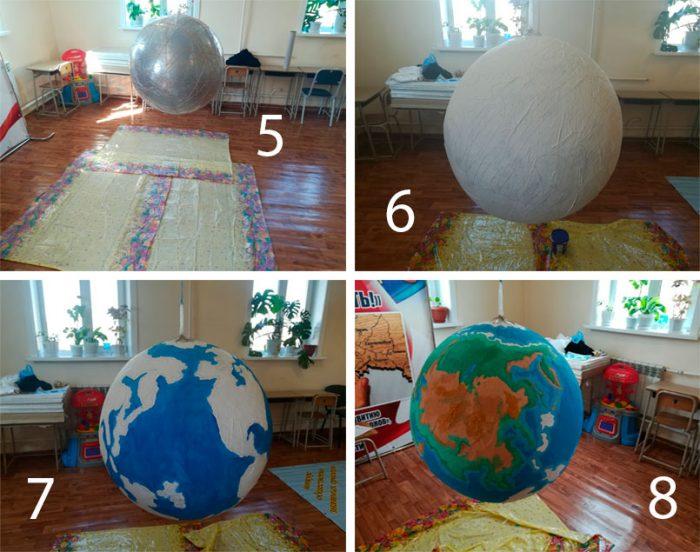огромный глобус мастер-класс