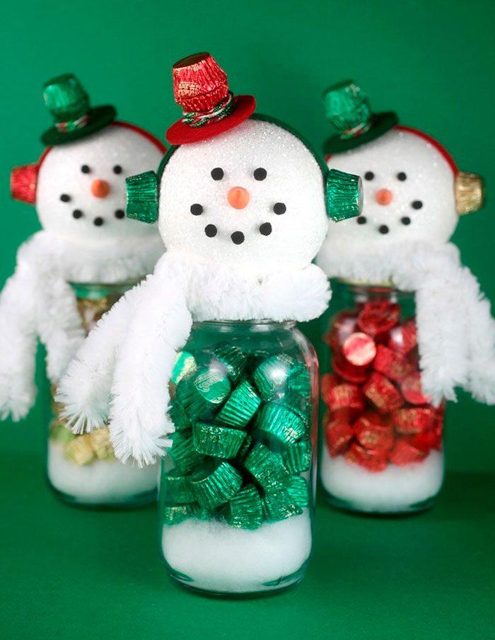 Поделки снеговика своими руками видео фото 293