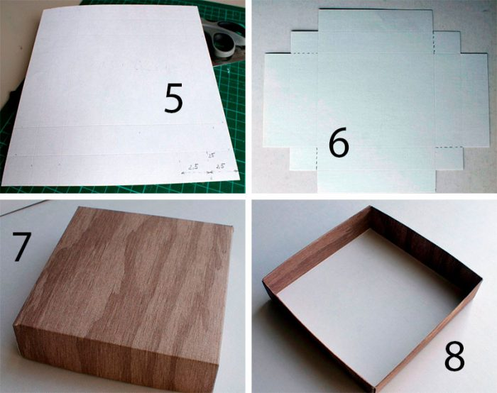 коробочка с фото мастер-класс