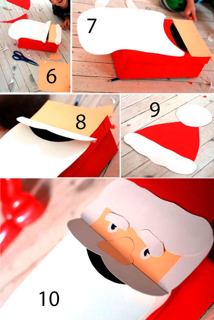 Рождественская коробка писем